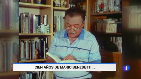 Ir al VideoCelebramos el centenario de Mario Benedetti con la voz de Joan Manuel Serrat