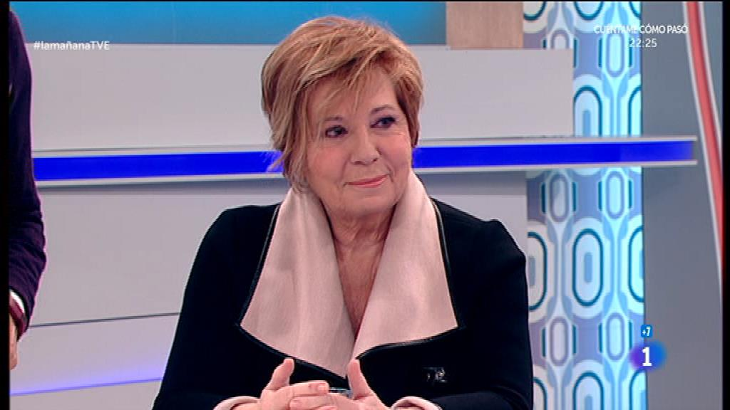 Celia Villalobos en 'La mañana' de TVE