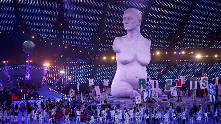 Ceremonia de inauguración de los Juegos Paralímpicos Londres 2012  (2ª parte)
