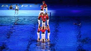 Ceremonia Inauguración Campeonato Mundial de Natación de Barcelona 2013
