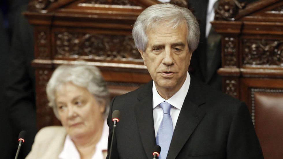 Ceremonia de investidura en Uruguay del presidente Tabaré Vázquez