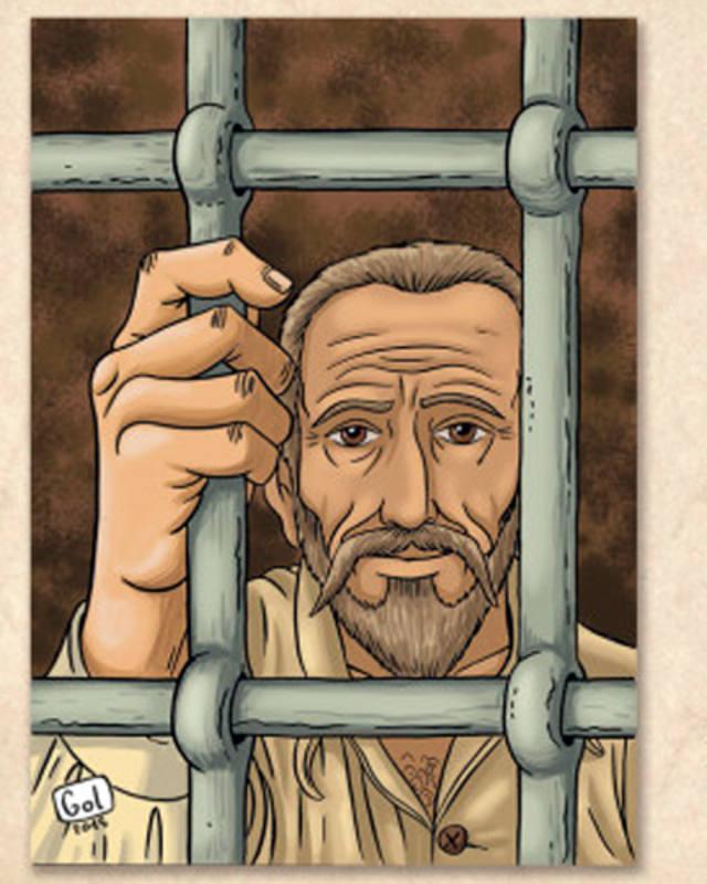 Una original biografa de Cervantes mezcla el cmic y el teatro