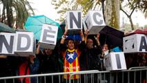 """Ir al VideoEl CGPJ apoya a los jueces catalanes por las protestas y la Generalitat defiende que son """"actos de solidaridad"""""""