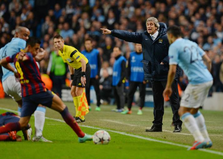 Champions 2014: Manchester City - Barcelona