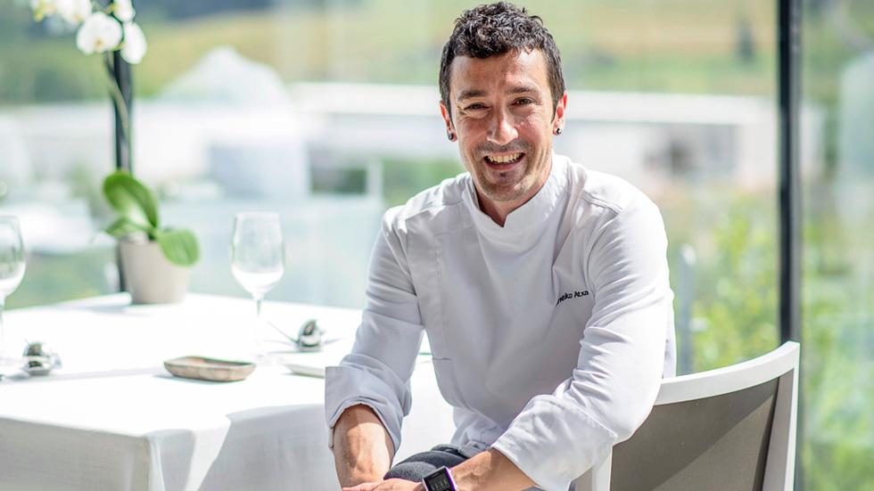 El chef vasco Eneko Atxa, Premio Nacional de Gastronomía al Mejor Jefe de Cocina
