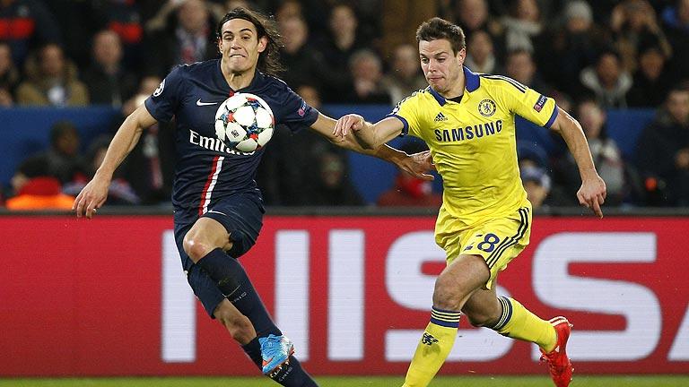 El Chelsea aventaja al PSG tras su empate en París