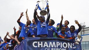 El Chelsea celebra su Champions