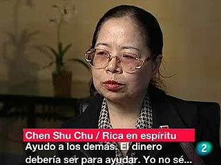 Chensu Chu, filántropa y personaje de Time