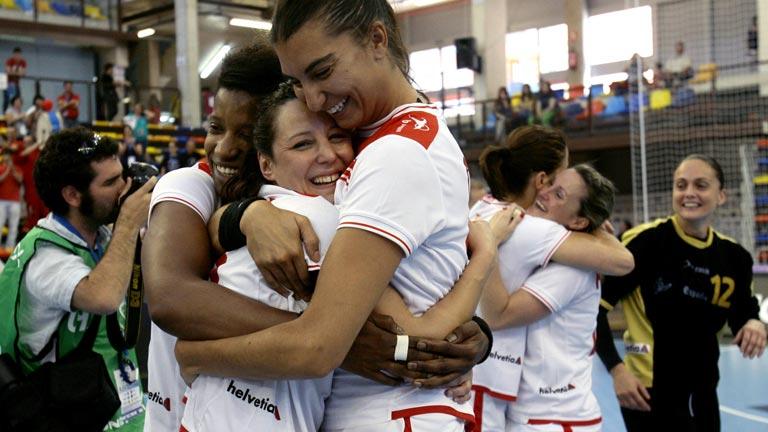 Las chicas del balonmano, a Londres 2012