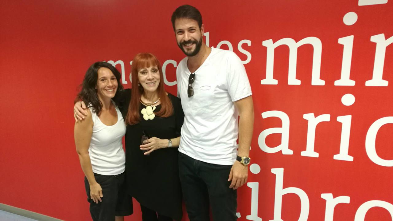 Chico García, Linda Peretz y Frantxa Arraiza