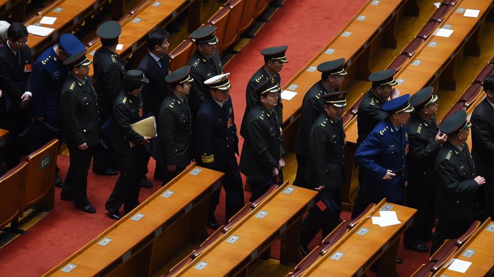 China aumenta un 10,1 % su presupuesto de defensa para el año 2015
