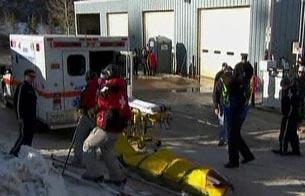 Accidente masivo en la prueba de Snow