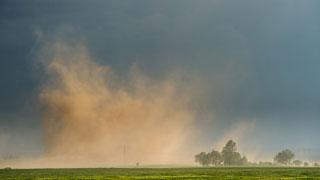 Chubascos con tormentas en el norte de la Península