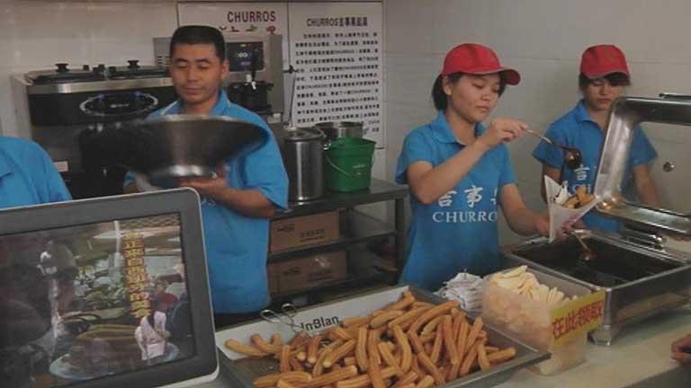 Los churros llegan a China