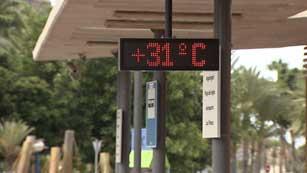 Viento fuerte en Canarias