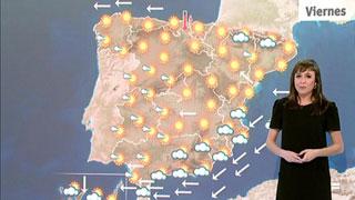 Cielo despejado y temperaturas en ascenso en el norte y nuboso en el sur con probabilidad de tormentas