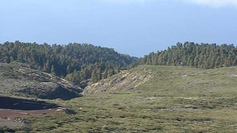 Tormentas en zonas de montaña del interior peninsular
