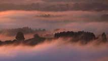 Cielos cubiertos con subida de las temperaturas en el noreste