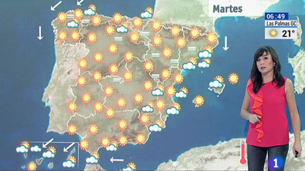 Cielos nubosos en catalu a baleares y canarias con - Baleares y canarias ...