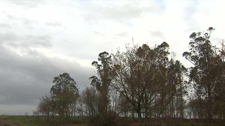 Cielos nubosos y precipitaciones en la mitad occidental de la Península