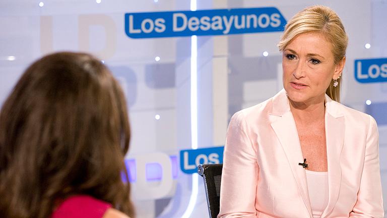 Entrevista íntegra de Cristina Cifuentes en Los Desayunos de TVE