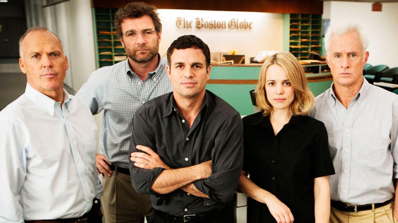 El cine en casa: 'Spotlight', 'Steve Jobs', 'Los odiosos ocho'