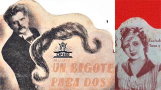 Cineteca proyecta 'Un bigote para dos', un clásico de Mihura y Tono