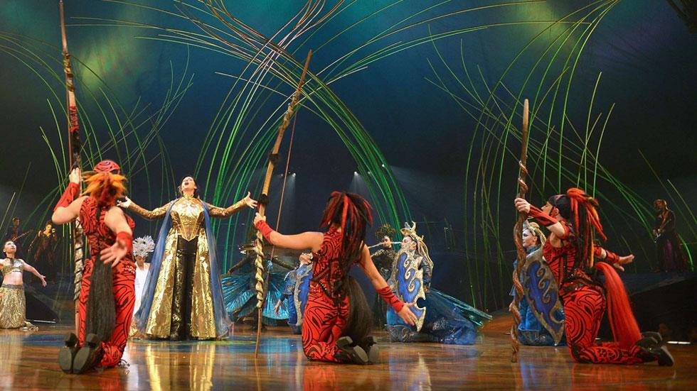 El Circo del Sol arranca en Madrid la gira europea de 'Amaluna', su último espectáculo