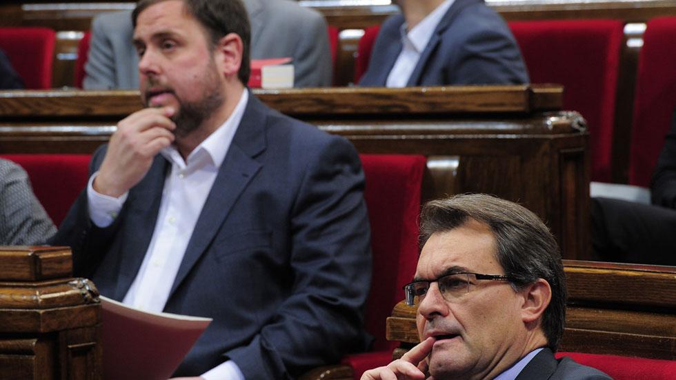 CiU y ERC perderían la mayoría absoluta en Cataluña si se celebraran elecciones