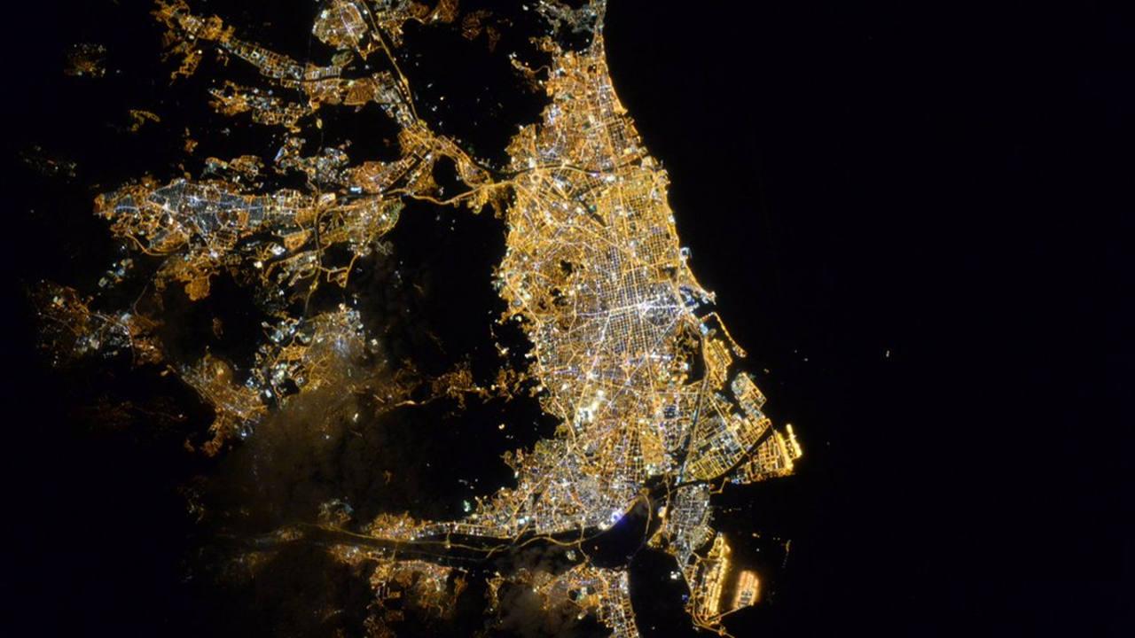 La ciudad de Barcelona. (SCOTT KELLY)