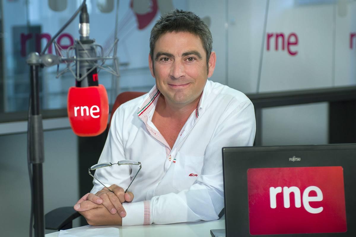 Ciudadano García, director y presentador del programa 'Esto me suena', de RNE, galardonado en la categoría de radio