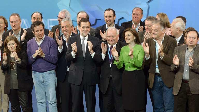 Rajoy clausura la convención nacional del PP con un mensaje de optimismo