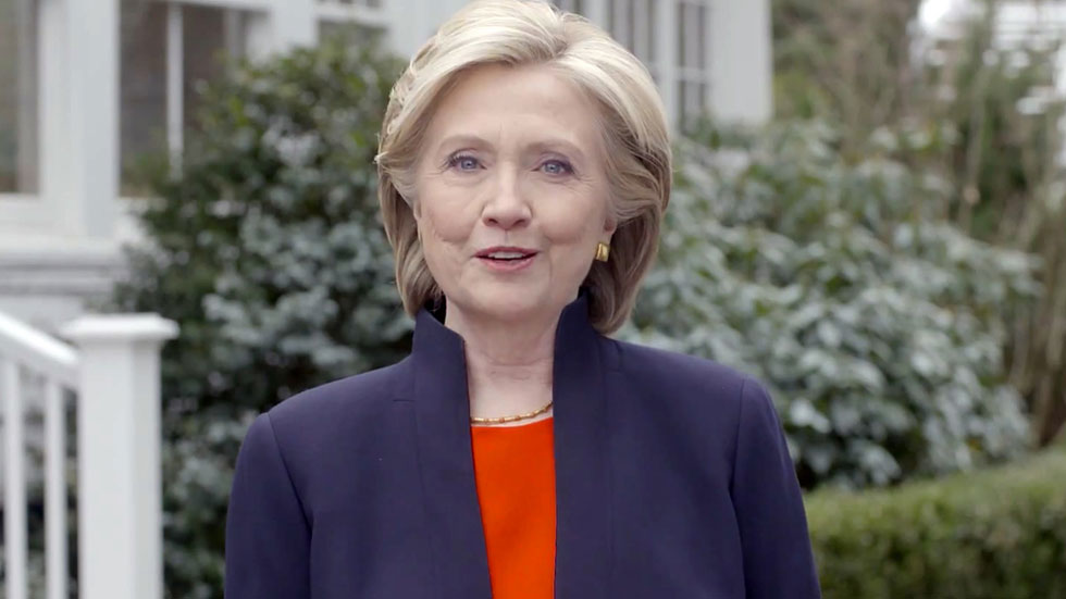 Hillary Clinton aspirante demócrata a la presidencia de EE.UU.