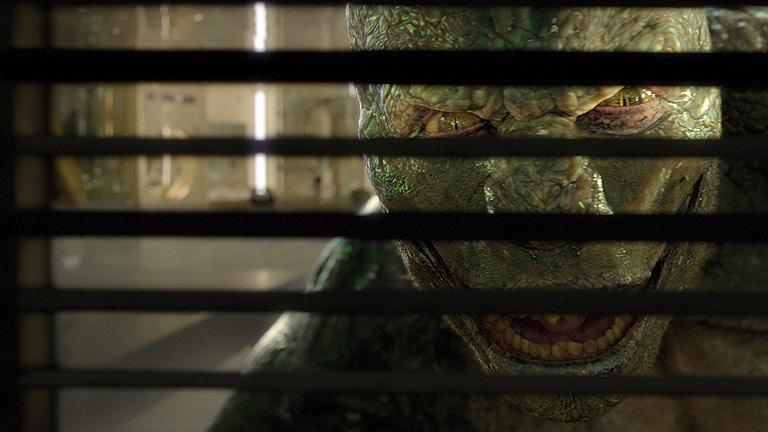 Clip de 'The amazing Spiderman': El Lagarto ataca