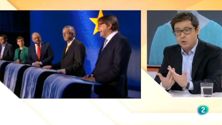 El debate entre los candidatos a la presidencia de la Comisión Europea