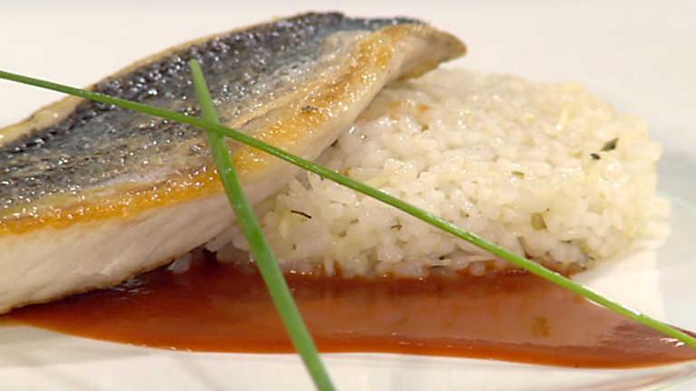 Cocina con sergio dorada a la plancha con salsa de oras for Cocina con sergio bizcocho