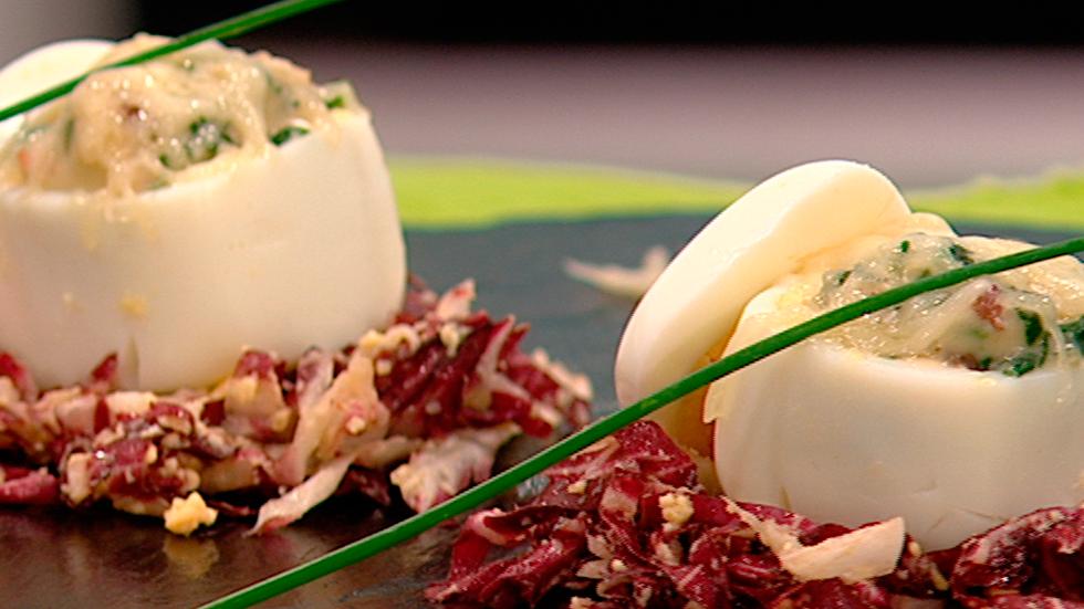 Cocina con sergio huevos rellenos gratinados cocina con - Cocina con sergio pepa ...