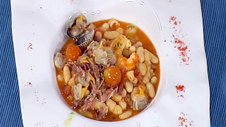 Cocina con sergio jud as en salsa de marisco con tomate for La cocina de sergio
