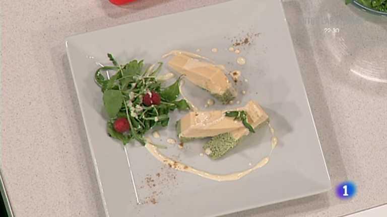 Receta de pastel de ave con salsa mahonesa de cominos for Cocina con sergio bizcocho