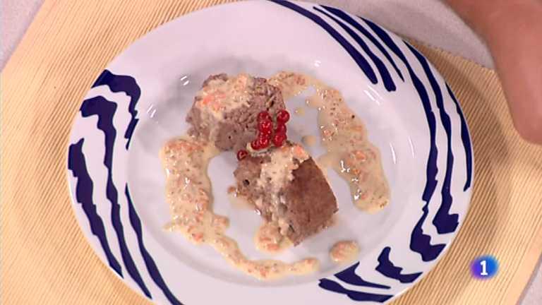 Cocina con sergio rollo de ternera relleno en salsa for Cocina con sergio bizcocho