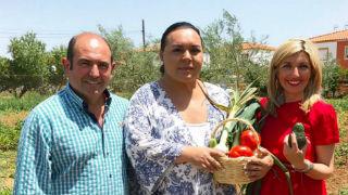 Aquí la tierra - Cocinamos calabacines rellenos con Falete