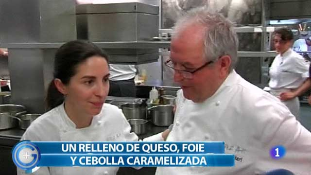 Más Gente - Más Cocina - Cromlech de cebolla y foie con Elena Arzak