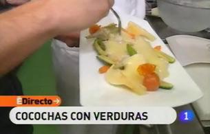 España Directo - Cocochas con verduras