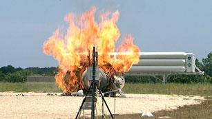 El cohete Morpheus se estrella en Florida