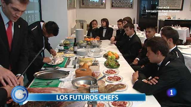 Más Gente - Más Cocina - Nos colamos en una escuela de chefs