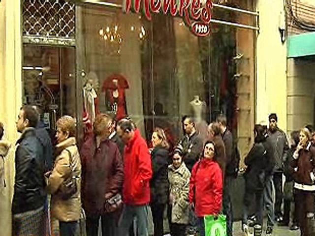 España Directo - Las colas de Doña Manolita