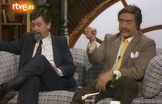 Coloquio sobre viajes con Miguel de la Quadra, Baltasar Porcel, Enrique Meneses y Jesús González Green (1988)
