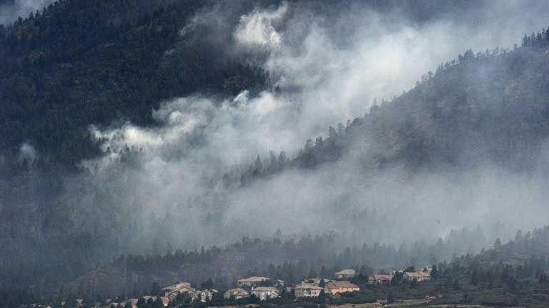 Obama declara zona catastrófica el estado de Colorado