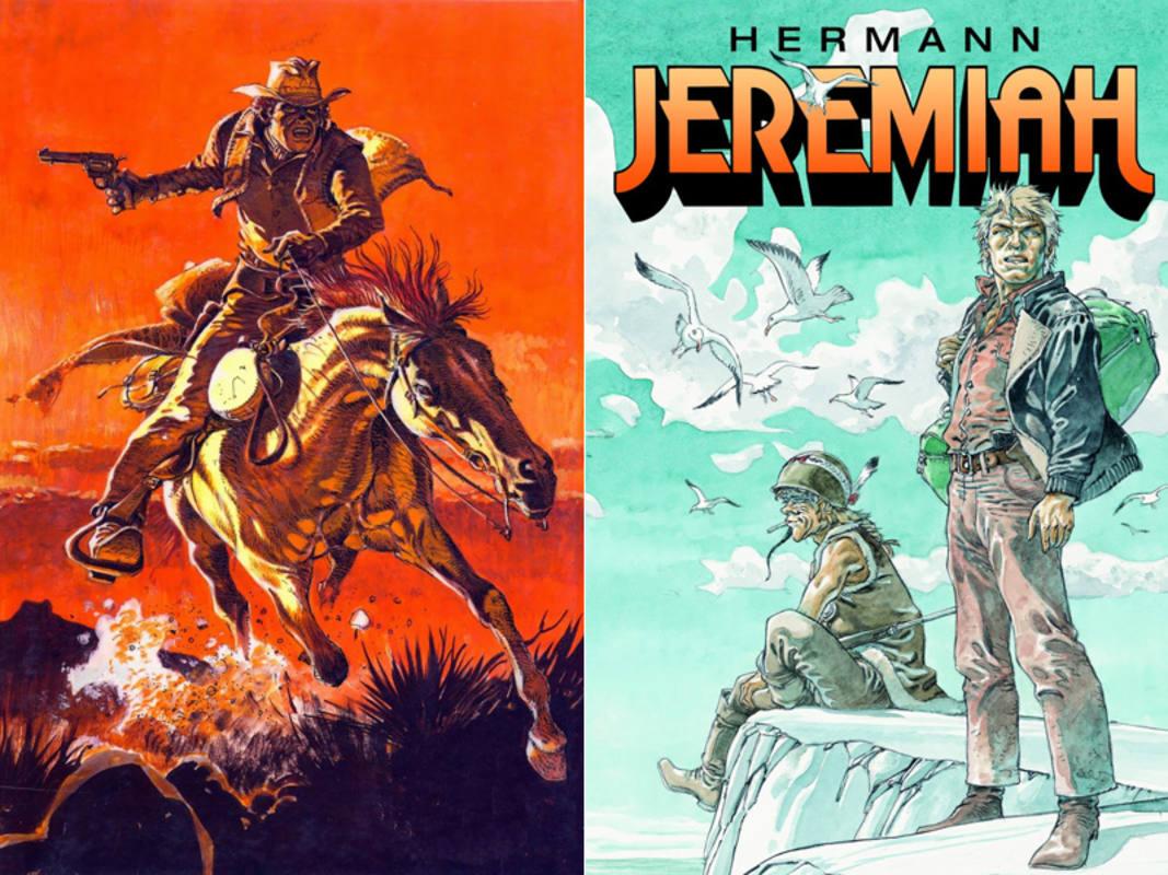 'Comanche' y 'Jeremiah', dos de las obras maestras de Hermann
