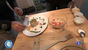 Más Gente - Más Cocina - Aprendemos a hacer Tartar de Verduras  y Frutas